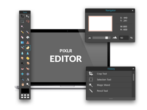 How to easily optimise images for the web using Pixlr Editor